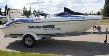 1998 18′ SEA DOO SPORTSTER 1800 TWIN ENGINE
